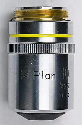 nikon mplan 10 side view
