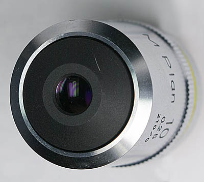 nikon mplan 10 top view