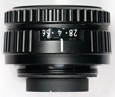 el-nikkor 50 side view