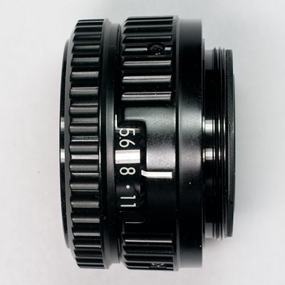 el-nikkor 75 side view